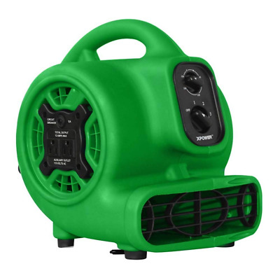 XPOWER P-230AT Multi-Purpose Mini Mighty Air Mover, Utility Fan, Dryer, Blower w