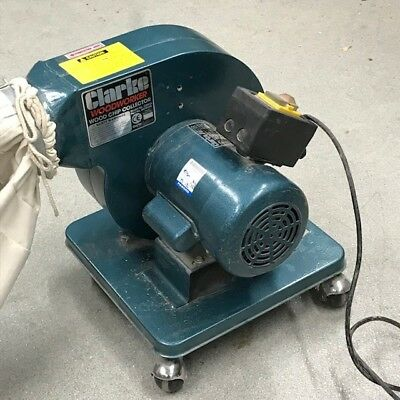 Clarke CDE35B Portable Dust Extractor & Chip Collector (230V), includes hozes