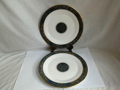 Royal Doulton Carlyle 2 x Dinner Plates  - 10 1/2 inch Free Uk Delivery