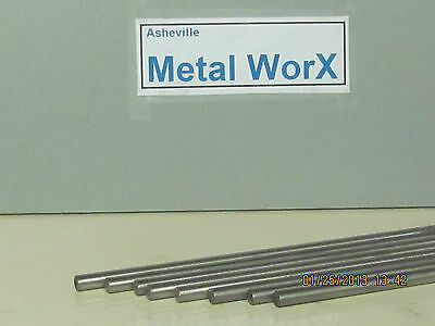 """3/16""""  Stainless Steel Rod / Bar Round 304   4 Pcs 15"""" Long"""