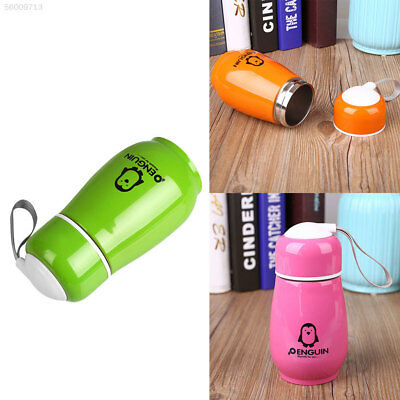 C71A Penguin Design Stainless Steel Water Cup Mug Coffee Tea Drink Thermos Bottl