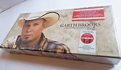 Garth Brooks The Ultimate Collection 10 Discs Boxed Set CDs. New, Sealed