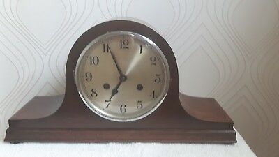 Napoleon Hat Chiming Mantel Clock with Key-Working