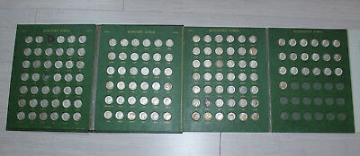 LOT 145 Murcury Roosevelt Silver Dimes 1927-1964 Coin Collection Old