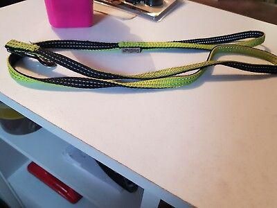 used small dog lead, i think it is flourescent yellow