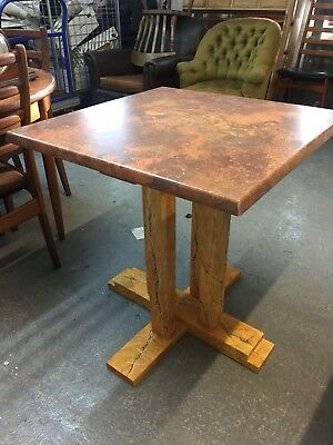 Art Deco 1930s Style Marble Dining Table French Bistro Table  M2715