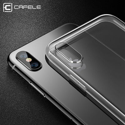 For iPhone X Xs Xr Xs Max Ultra Thin Transparent Clear TPU Silicone Covers Case