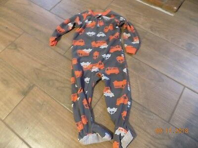 24 MONTHS Child of Mine Baby Boy One Piece Footed Pajamas