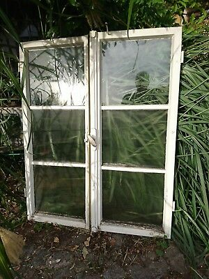 altes Sprossen Fenster antik Holzfenster Sprossenfenster shabby chic