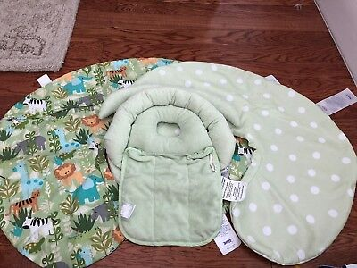 3 piece Boppy Set - Two Boppy Pillow Covers and One Boppy Head Support