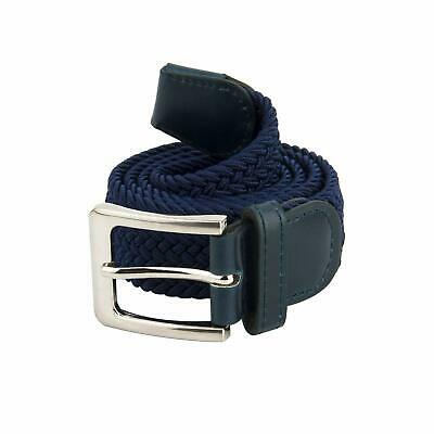 Canvas Elastic Fabric Woven Stretch Canvas Elastic Braided Belt Solid Color
