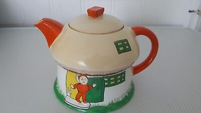 shelley art deco boo boo teapot  c1920s by mabel lucy attwell. excellent cond
