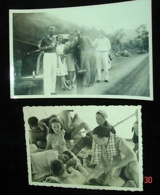 old 1940 Cucuta & Barranquilla Colombia Beach babe PHOTO Colombia South America