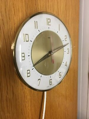 Vintage Clock metamec Retro Wall Clock