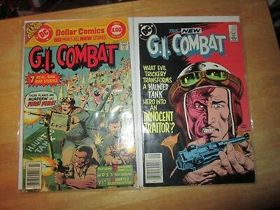 DC GI Combat  lot of 2 #202 & 285 / The Haunted Tank