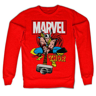 Official Licensed Marvel - The Mighty Thor Sweatshirt S-XXL Sizes (+ colours)