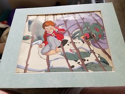 Nice Animation Cel Matted From Unknown Cartoon