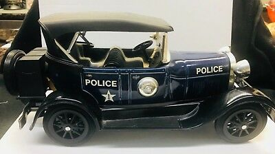 1929 JIM BEAM Police Car Decanter - FULL - UNOPENED - STILL SEALED TAX STAMP