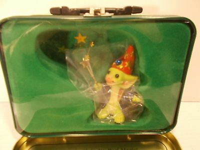 Pocket Dragons Real Magic. Used. Mint With Lunch Tin And Box. No Coa.