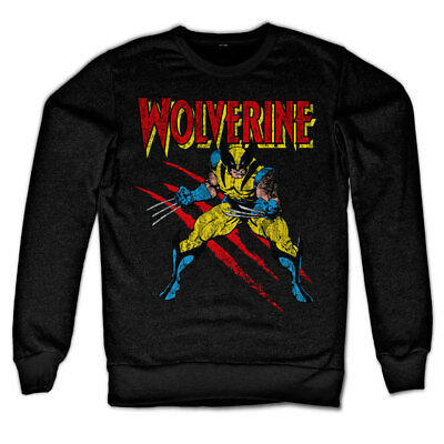 Official Licensed Marvel - Wolverine Scratches Sweatshirt S-XXL (+ colours)