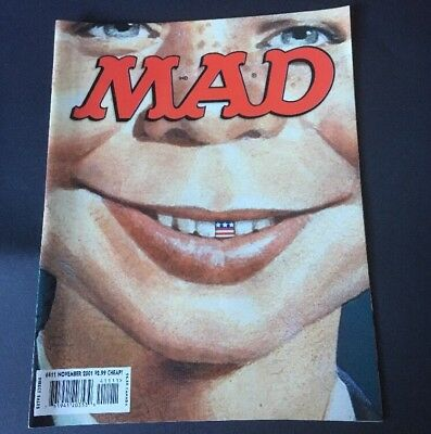 US Mad Magazine no 411 Nov 2001, Vintage Original Comic, VGC