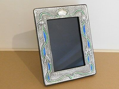 Art Nouveau Style Silver Picture/photo Frame