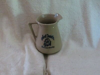 Vintage Jack Daniels Old No 7 Stoneware Pitcher Pottery USA 3051