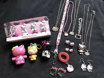 Hello Kitty Collection Jewelry Figurines Ornaments Collectibles