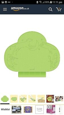 Summer Infant Tiny Diner Portable Placemat, Green.