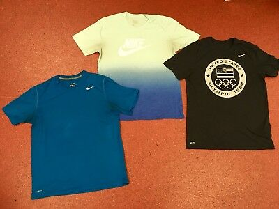 Mens Nike T-shirts - Lot Of 3 Size Large Good Condition
