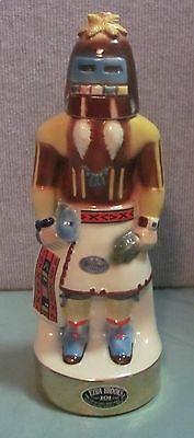 Vintage 1976 Ezra Brooks Heritage China Liquor Decanter--Hopi Kachina Doll