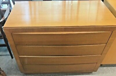 Vintage Mid Century Modern Rway Blonde Buffet with Four Drawers. NO RESERVE
