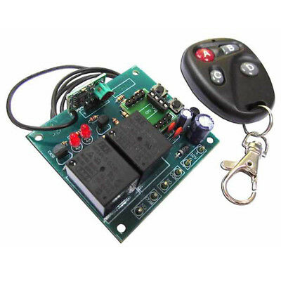 2 Channels UHF Remote Control Soldering Kit