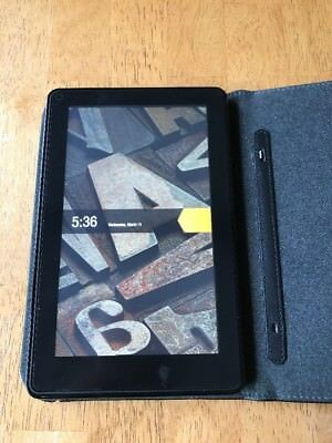 Kindle Fire, 1st generation DO1400 With Case