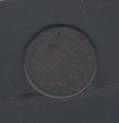 Coins Us Large Cent 1810