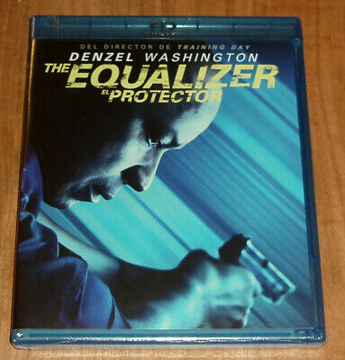 The Protective Equalizer Blu-Ray Sealed New Denzel Washington (Unopened