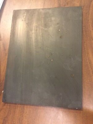 "1/4 A36 Steel Plate Stock Rectangle Made in USA (Dimensions .25"" X 9"" X 12"")"