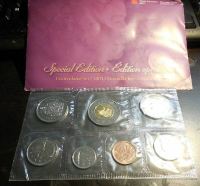 2003 Canada Prooflike Set Special Edition
