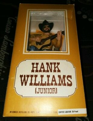 Hank Williams Jr. McCormick Music Box Decanter - Bocephus