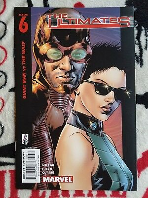 The Ultimates #6 & Annual 1 both NM/9.4 2002 Marvel