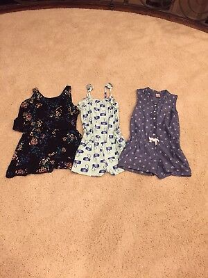 7-8 Girls Romper Lot