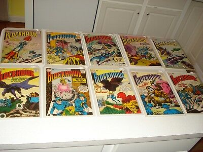 Group Of (20) 10 Cent Blackhawk Comics From 1958-61, Issues #123-166,solid Books
