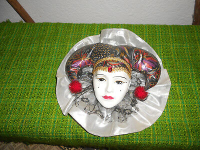 Deko Masken Made in Italy Wandmasken Porzellan ( Lot 7 )