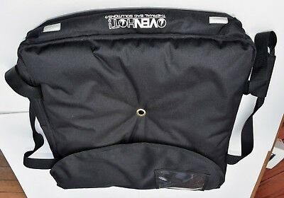 OvenHot Black Large Insulated Pizza Delivery Bag