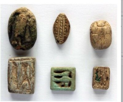 Ancient Egyptian Scarabs & Plaques