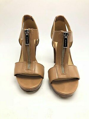 1360be43309c NEW MICHAEL KORS Women s Berkley Leather Platform Sandals US 10M ...