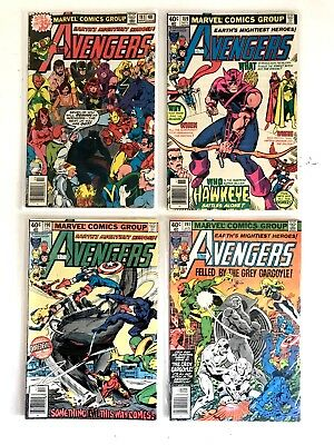 THE AVENGERS #181 189 190 191 Scott Lang 1st Appearance 4 Book John Byrne LOT ~