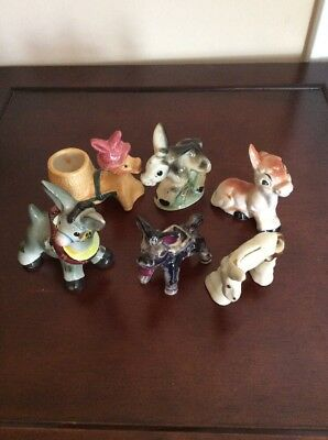 Set of 6 Donkeys