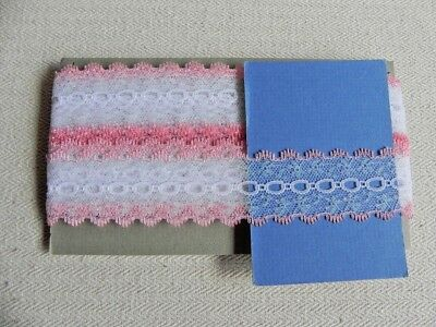 Card of New Knit Lace - Peach