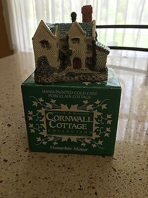 """1987 Museum Collections Cornwall Cottage Series """"Hampshire Manor"""" BH05, Vintage"""